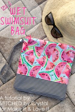 Sew a Wet Swimsuit Bag!