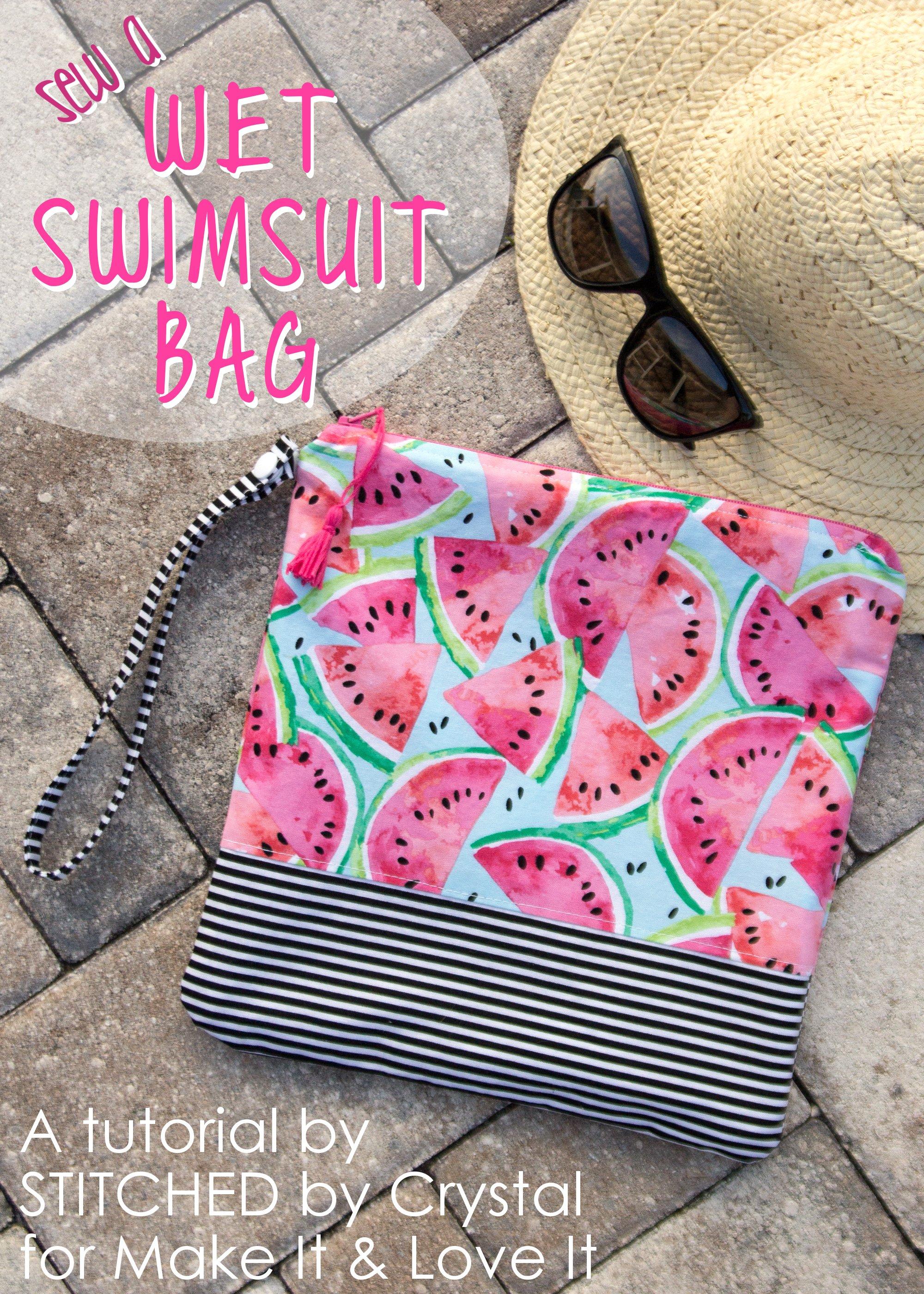 Sew a Wet Swimsuit Bag!