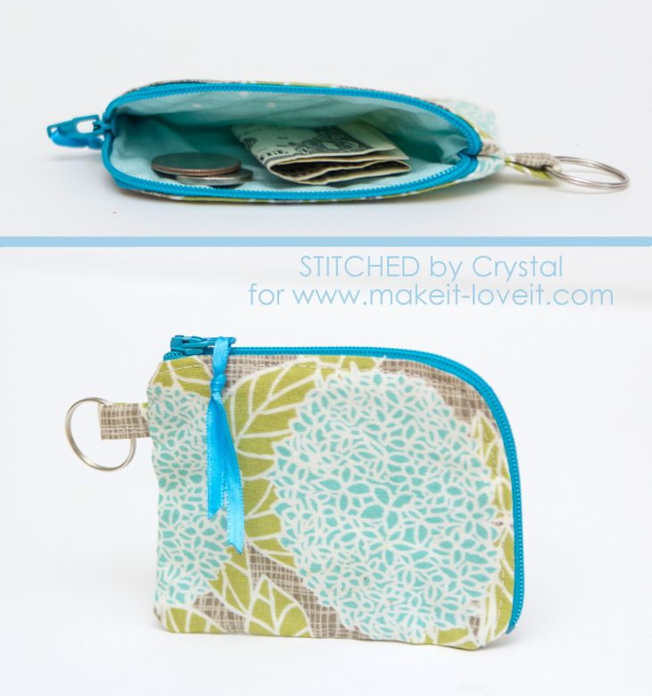 Sew a Lunch Money Pouch...for Back to School! | via www.makeit-loveit.com