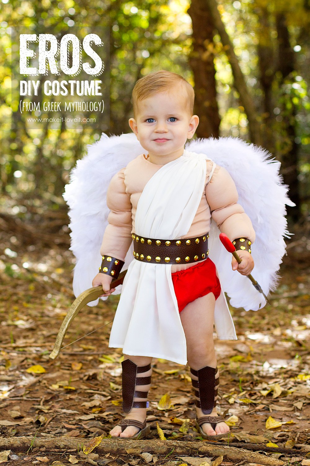 Diy greek god costume: eros
