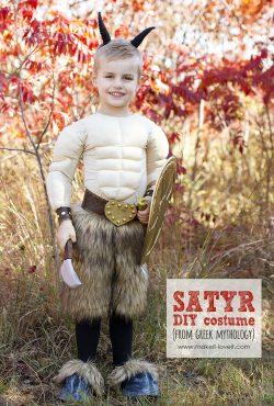 DIY Greek Mythology Costume: SATYR