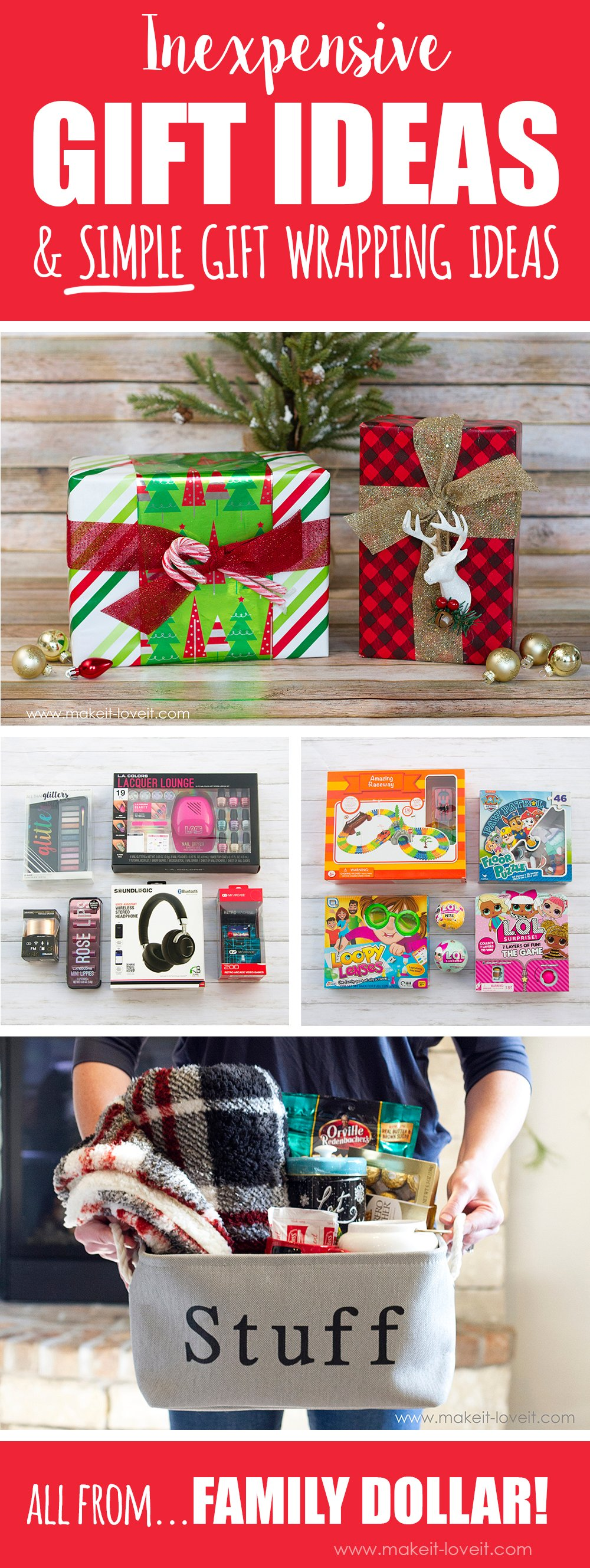 Gift ideas and gift wrapping ideas 1