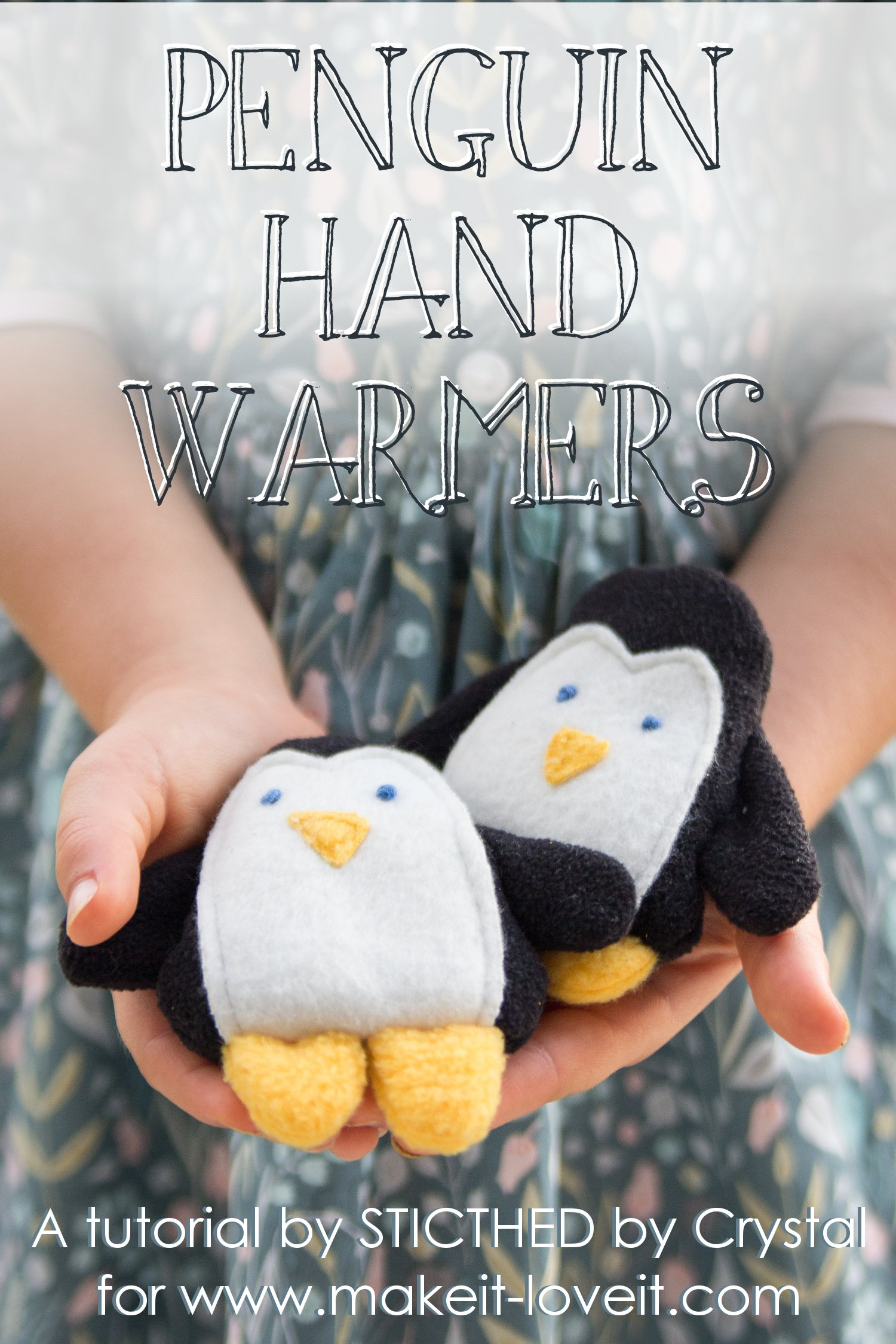 Sew a penguin hand warmer!
