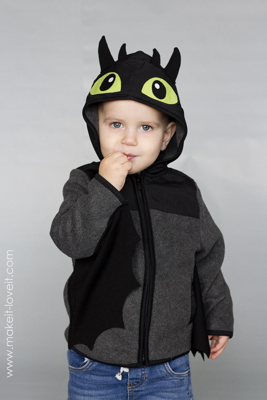 Diy toothless dragon hoodie 15