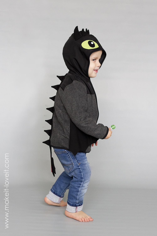 Diy toothless dragon hoodie 17
