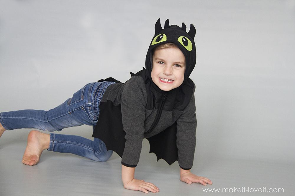 Diy toothless dragon hoodie 24