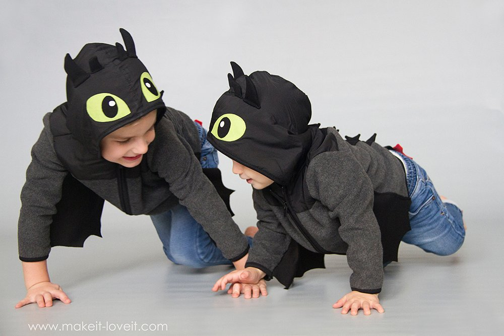 Diy toothless dragon hoodie 25
