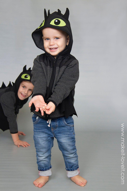 Diy toothless dragon hoodie 26