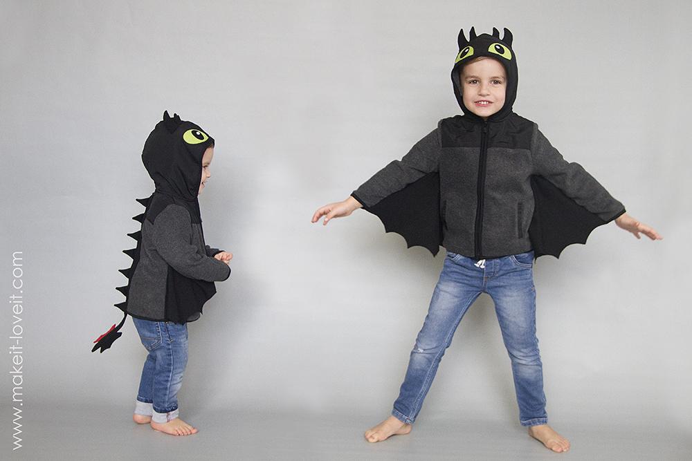 Diy toothless dragon hoodie 31