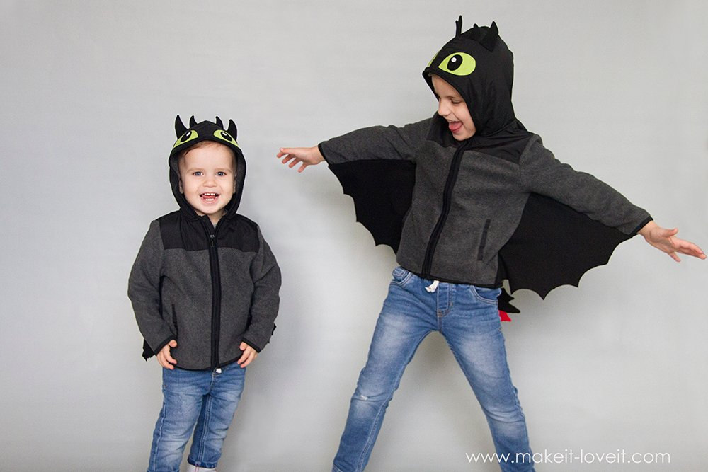Diy toothless dragon hoodie 33
