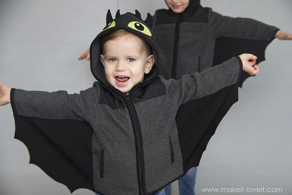 Diy toothless dragon hoodie 37