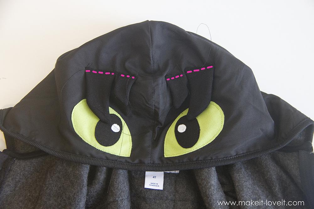 Diy toothless dragon hoodie 78