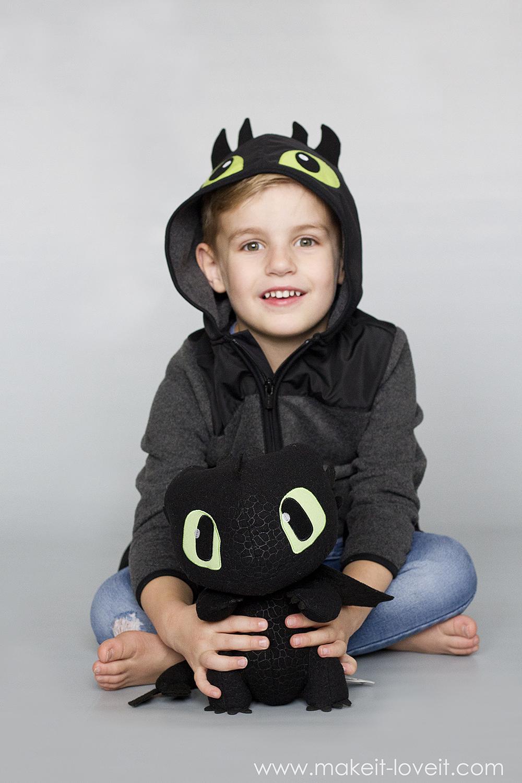 Diy toothless dragon hoodie 8