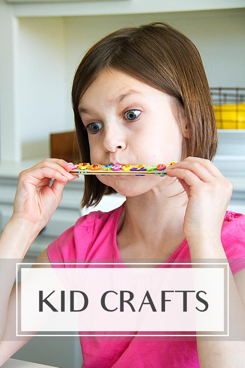 Diy crafting kid crafts