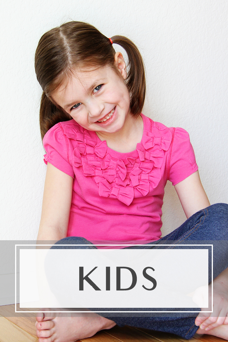 Kids clothing tutorials