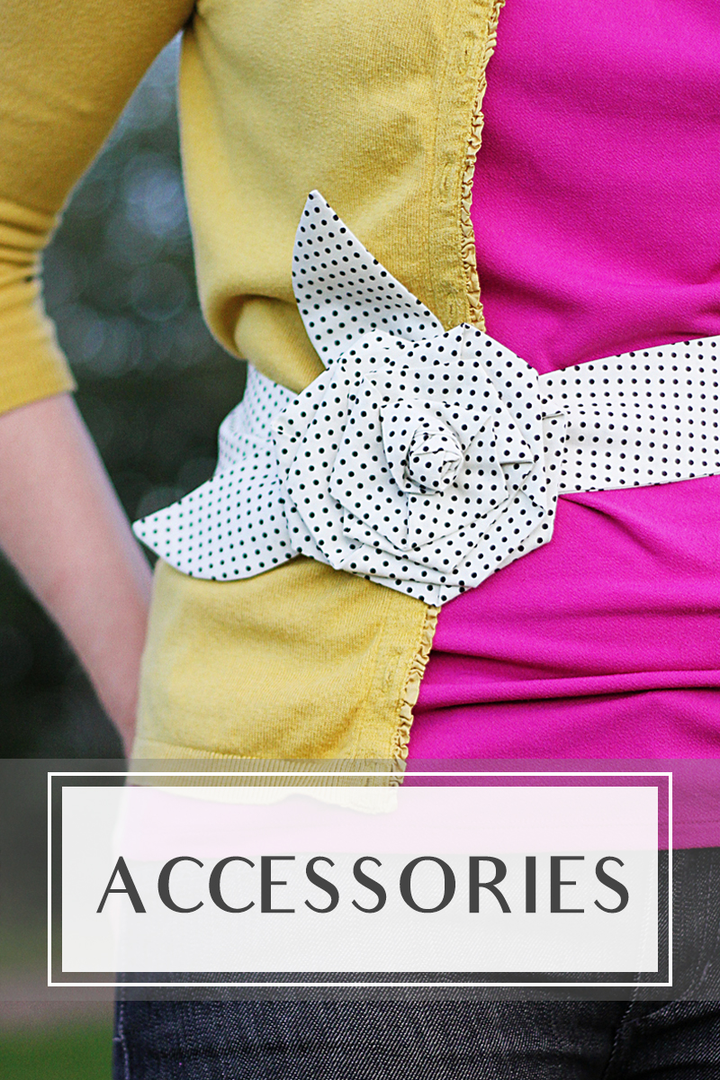 Sewing accessories tutorials
