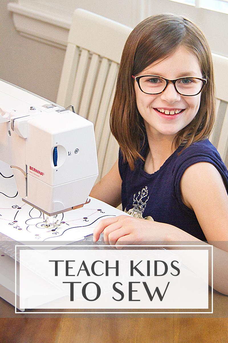 Teach kids to sew 11