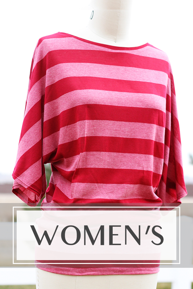 Womens clothing tutorials