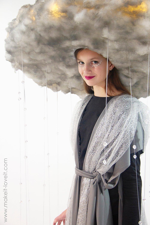 Diy rain storm cloud costume 12