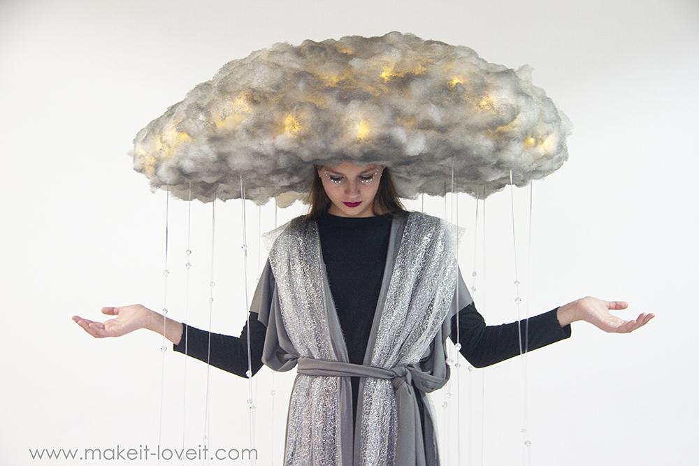 Diy rain storm cloud costume 9