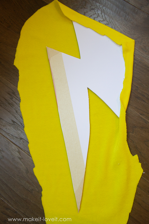 Lightning storm cloud costume tutorial instructions 2