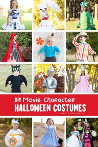 Diy movie character costumes