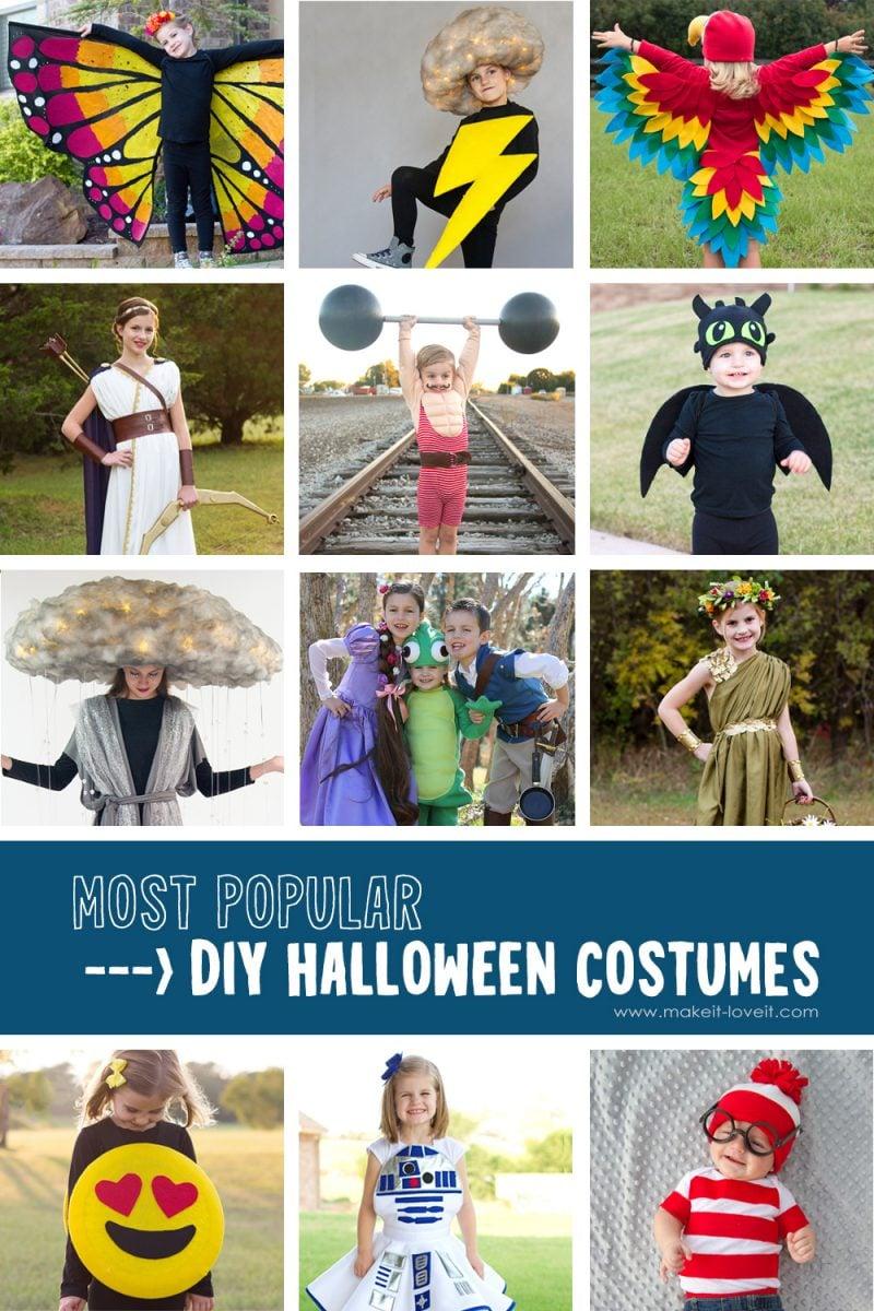 Most popular costumes